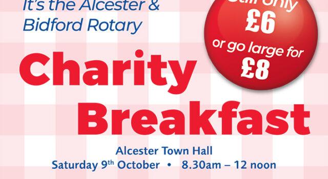 Rotary Charity Breakfast